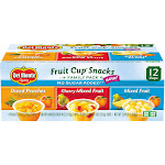 Del Monte Fruit Cup Snacks Variety Pack 2.94 Lb. Box