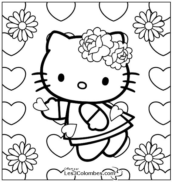 Sélection De Dessins De Coloriage St Valentin à Imprimer Sur
