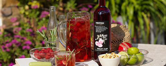 Heston launches Summer Cup for Waitrose