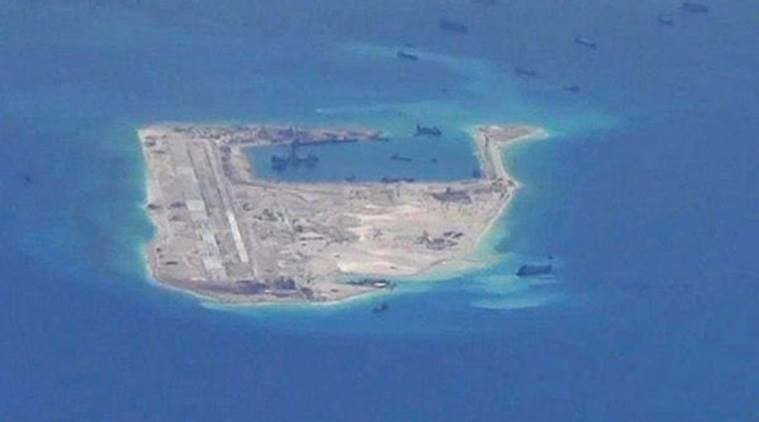 The US Defense Department, which opposes China's installation of military facilities on outposts it has built up in the South China Sea, declined comment. (Reuters/File)