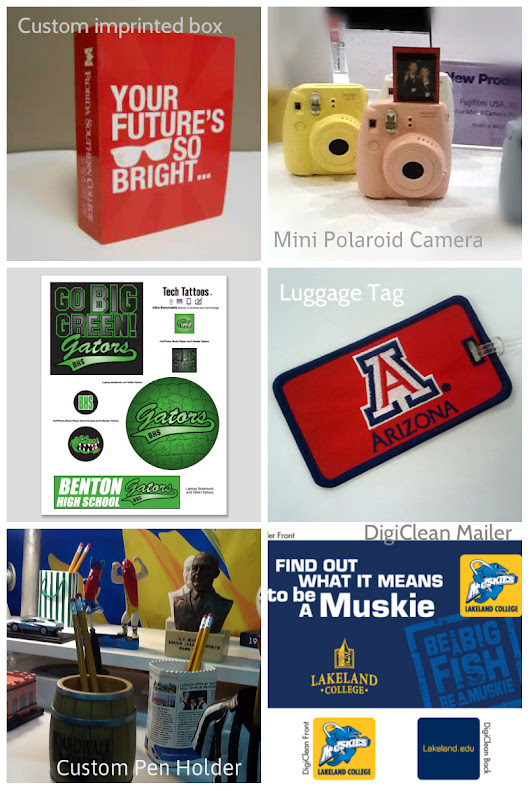 2015 Top Admissions Promotional Items