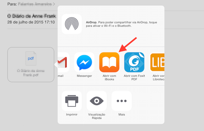 how to upload pdf in ibooks