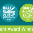 Helpmates Staffing Services Wins Two of Inavero's 2017 Best of Staffing® Diamond Awards - Helpmates Staffing