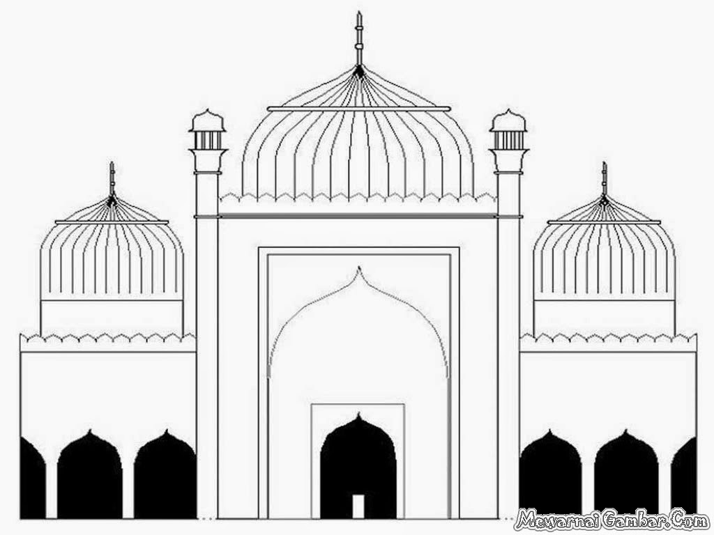 Video Animasi Masjid Darmawan Blog Clip Art Library
