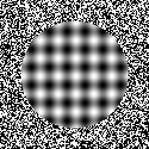 Out of Focus Optical Illusion