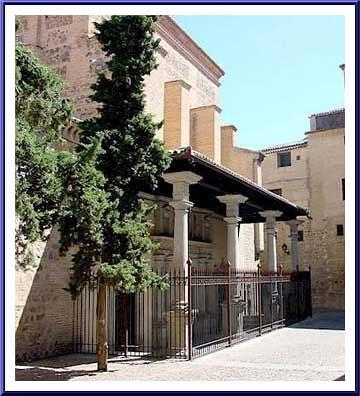 Convento de Santo Domingo el Real (Toledo) a finales del siglo XX.