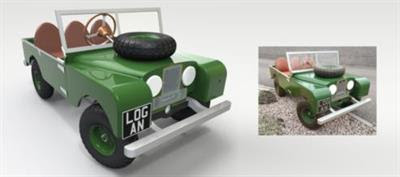 Series 1 Land Rover Pedal Car - Made Easy with SOLIDWORKS!