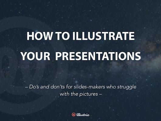 How to illustrate your presentations