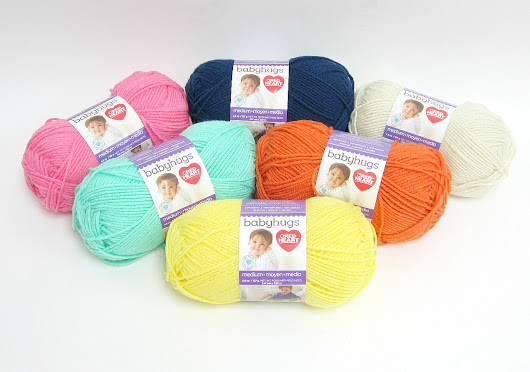 Red Heart Baby Hugs Yarn Bundle