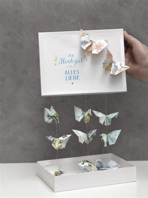 Schmetterlinge aus Geld falten   DIY   Pinterest