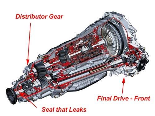 Audi Area Audi A8 Audi A8 Transmission Output Flange Seal