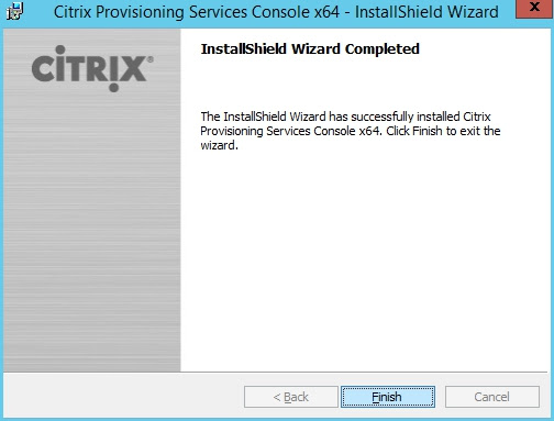 Installing and Configuring Citrix Provisioning Service 7.7 and creating a vDisk - RobinHobo.com