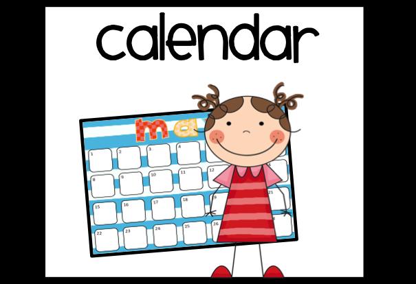 2018 calendar clipart 21