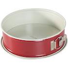 "Nordic Ware Leak Proof Springform Pan, Red, 9"""