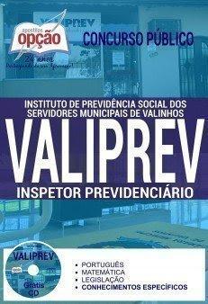 apostilas Prefeitura de Valinhos para Concurso Público VALIPREV 2017