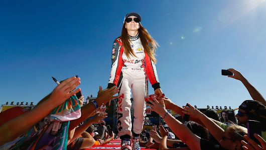 Danica Patrick says she 'had a moment' when cursing at a booing fan