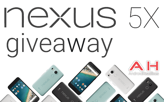 International Giveaway: Win An LG Google Nexus 5X Smartphone With Android Headlines | Androidheadlines.com