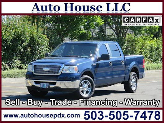 2007 Ford F-150 - Auto House LLC - Used Car Dealership - Portland OR