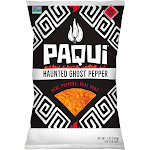 Paqui Tortilla Chips, Haunted Ghost Pepper - 7 oz