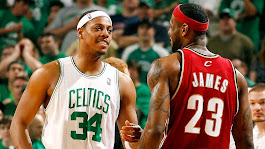 NBA --  Boston Celtics great Paul Pierce to be honored in front of biggest rival