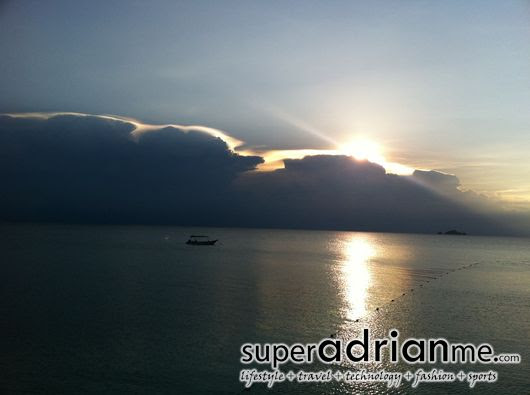 Perhentian Islands sunset coral bay