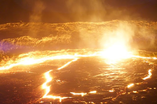 The Danakil Depression Part Two: Climbing An Active Volcano