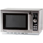 Amana RCS10DSE 1000W Commercial Microwave - 1.2 cu ft - Stainless Steel