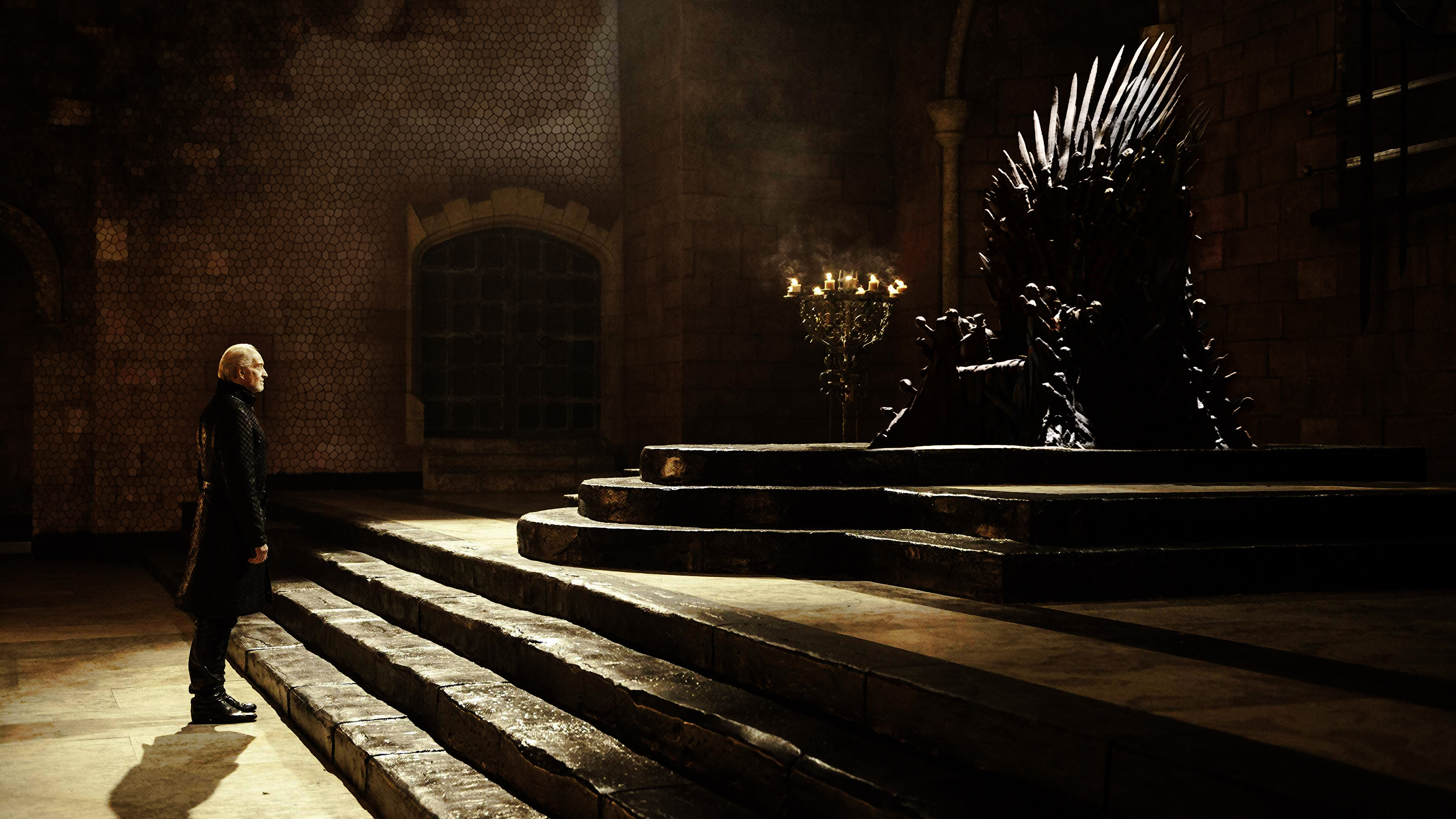Main Spoilers Created A 4k Wallpaper Of The Throne Because I