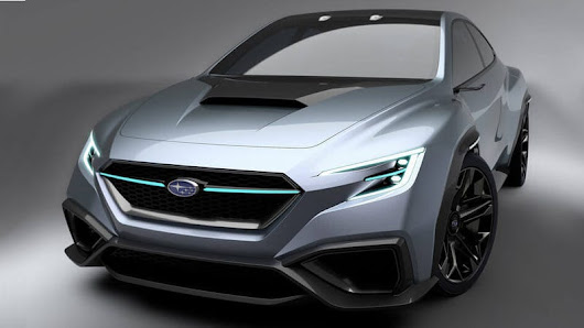 The Subaru Viziv Performance Concept Is A Next-Gen WRX With Even More Angles