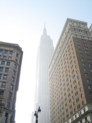 The Empire State in morning light