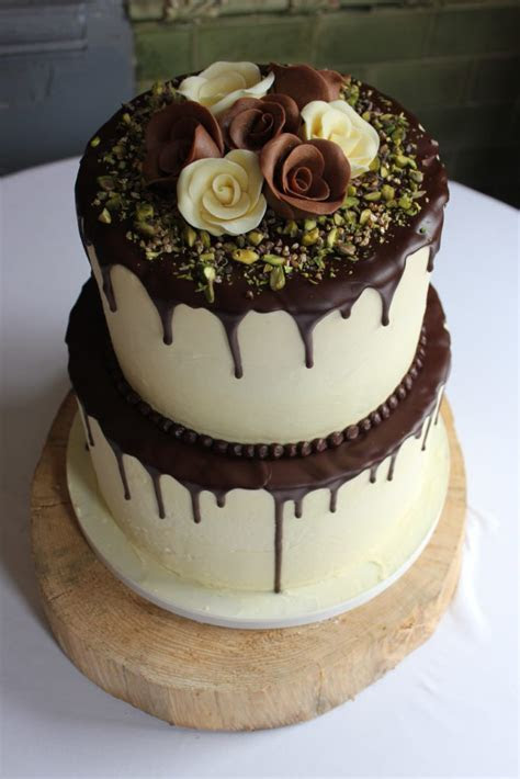 Wedding Cake Wednesday: Chocolate Drip Cake   Restoration Cake