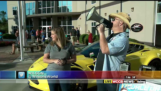 Wilson's World: Visiting JR Motorsports During Their 2017 Fan Appreciation Day - WCCB Charlotte