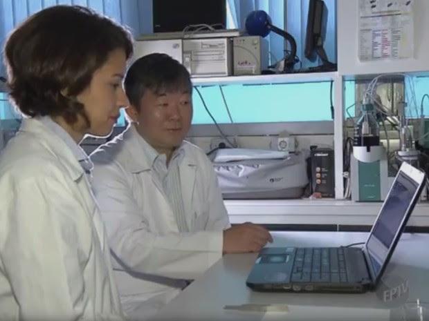 Pesquisadores desenvolvem dispositivo para detectar câncer de mama (Foto: Reprodução/ EPTV)