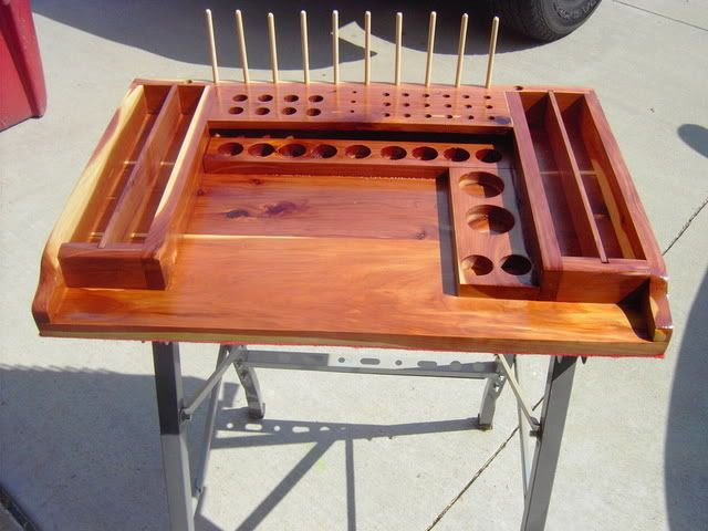 Fly Tying Table Woodworking Plans Woodworking Router Bits