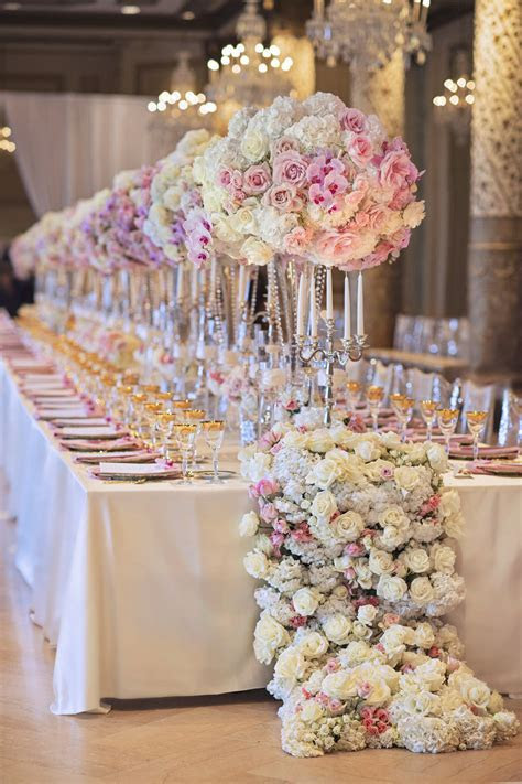Wedding Ideas : Long Reception Tables   Belle The Magazine