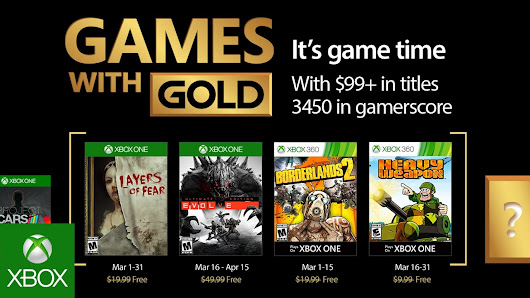 Xbox - March 2017 Games with Gold - YouTube