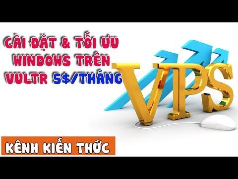 Cách cài đặt và tối ưu Windows trên VPS Vultr từ file ISO