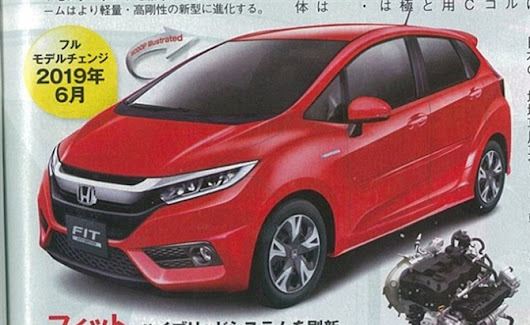 2019 Honda Fit Rumored to Receive 1.0L Turbo Engine, Hybrid Powertrain » AutoGuide.com News