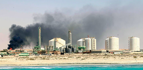 Zueitina oil terminal located near Benghazi, Libya has been the scene of labor unrest. The industry in Libya is no facing a downturn in production after the imperialist overthrow of Gaddafi. by Pan-African News Wire File Photos