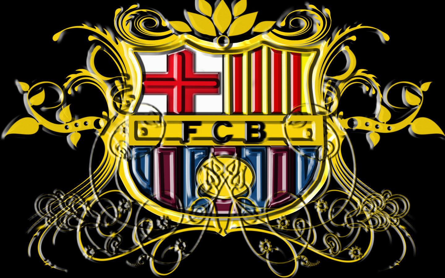 Fc Barcelona Logo Wallpaper Fc Barcelona Wallpaper 22614322 Fanpop