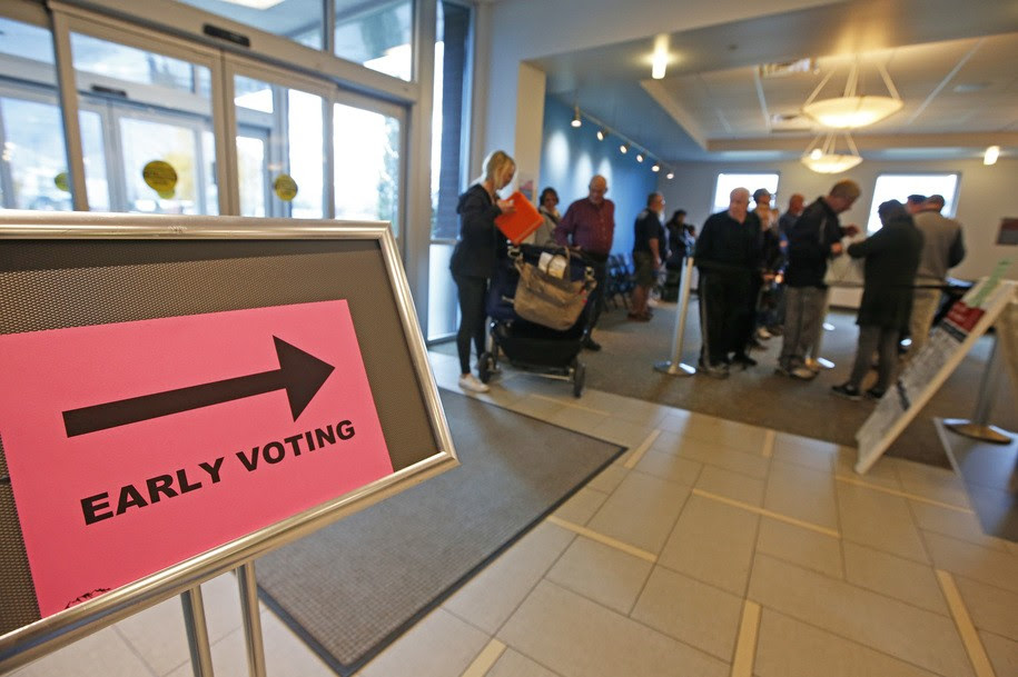 Daily Kos Elections early voting roundup: Early data calls into question the 'hidden Trump voter'