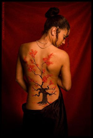 Tatatatta Art Japanese Tattoos Especially Cherry Blossom Tattoo