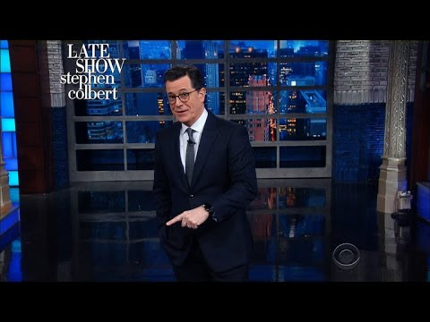 "Stephen Colbert to Stephen Miller ""What the F*** are you talking about?)"