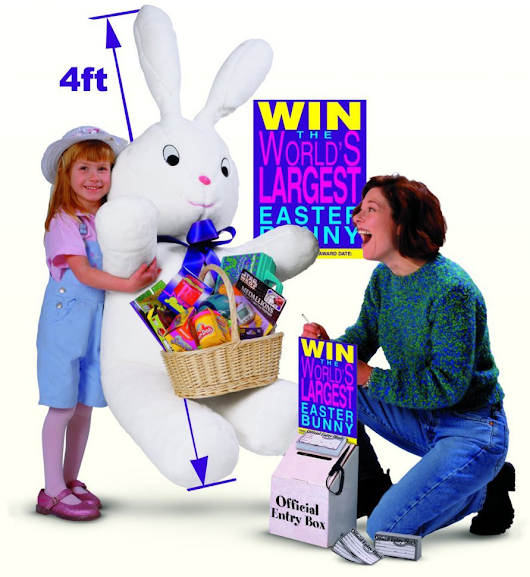 Giant Easter Bunny | Retail Traffic Promotion