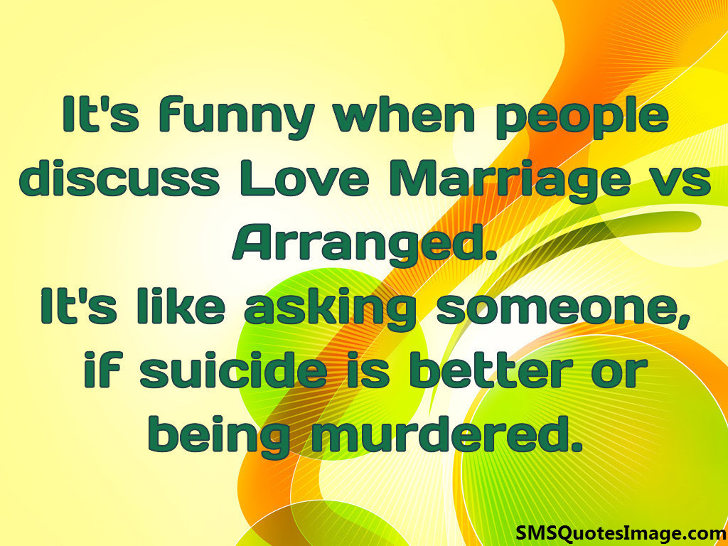 Love Marriage vs Arranged