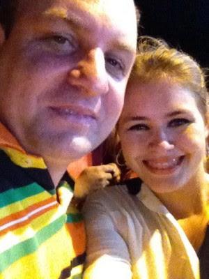 Prefeita Lidiane e seu ex-marido e ex-secretário Beto Rocha