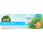 Seventh Generation Organic Cotton Tampons - Super Plus - Applicator Free - 20 Tampons