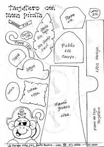 lembrancinha dia dos pais porta tesouro macaquinho em EVA (2)