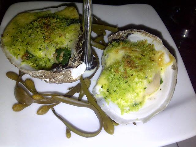 Oysters Rockefeller 1