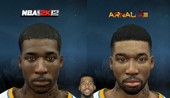 Download NBA 2K12 Wilson Chandler Cyberface Patch